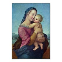 Rafael's Mary and the Christ Child