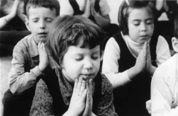 When Children Began Each School Day with Prayer