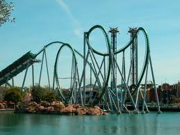 The Rollercoaster of Life(Hulk at Universal Studios)
