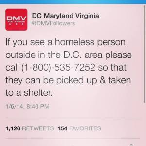 Way to go DC! I sure hope you don't have to take a vote to see who picks them up or what shelter to take them to!