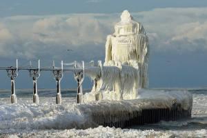 St. Joseph Lighthouse Lake Michigan