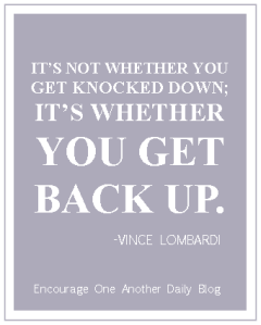 Get Back Up Lombardi