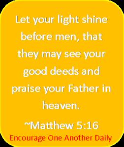 Matthew 5.16