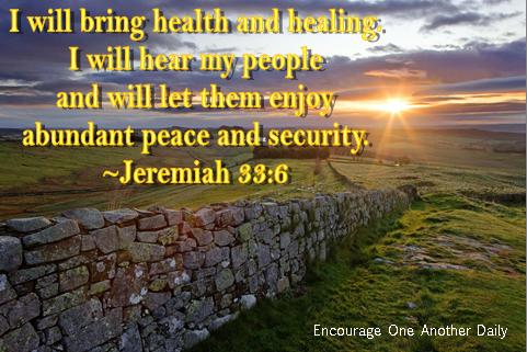 Jeremiah 33.6